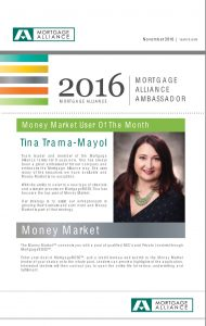 2016 Mortage Alliance Ambassador